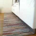 Küchen Fleckerlteppich bunt