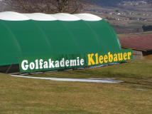 Golfplatzwerbung