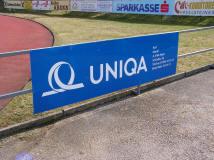 Sportplatz Banner