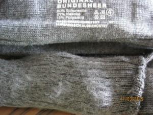 Bundeswehrsocken_gerauht
