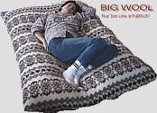Big Wool Sitzsack Füllung