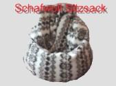 Schafwollsitzsack Sitzsackfüllung