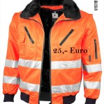 Pilotenjacke   orange signal