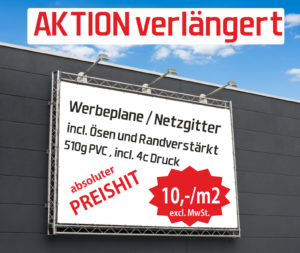 Transparent Aktion