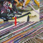Flickenteppich aus Krawatten